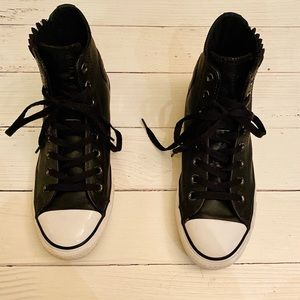 Converse all-star high-top black sneakers 👟